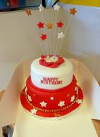 Starburst 2 tier by cakesbylorna