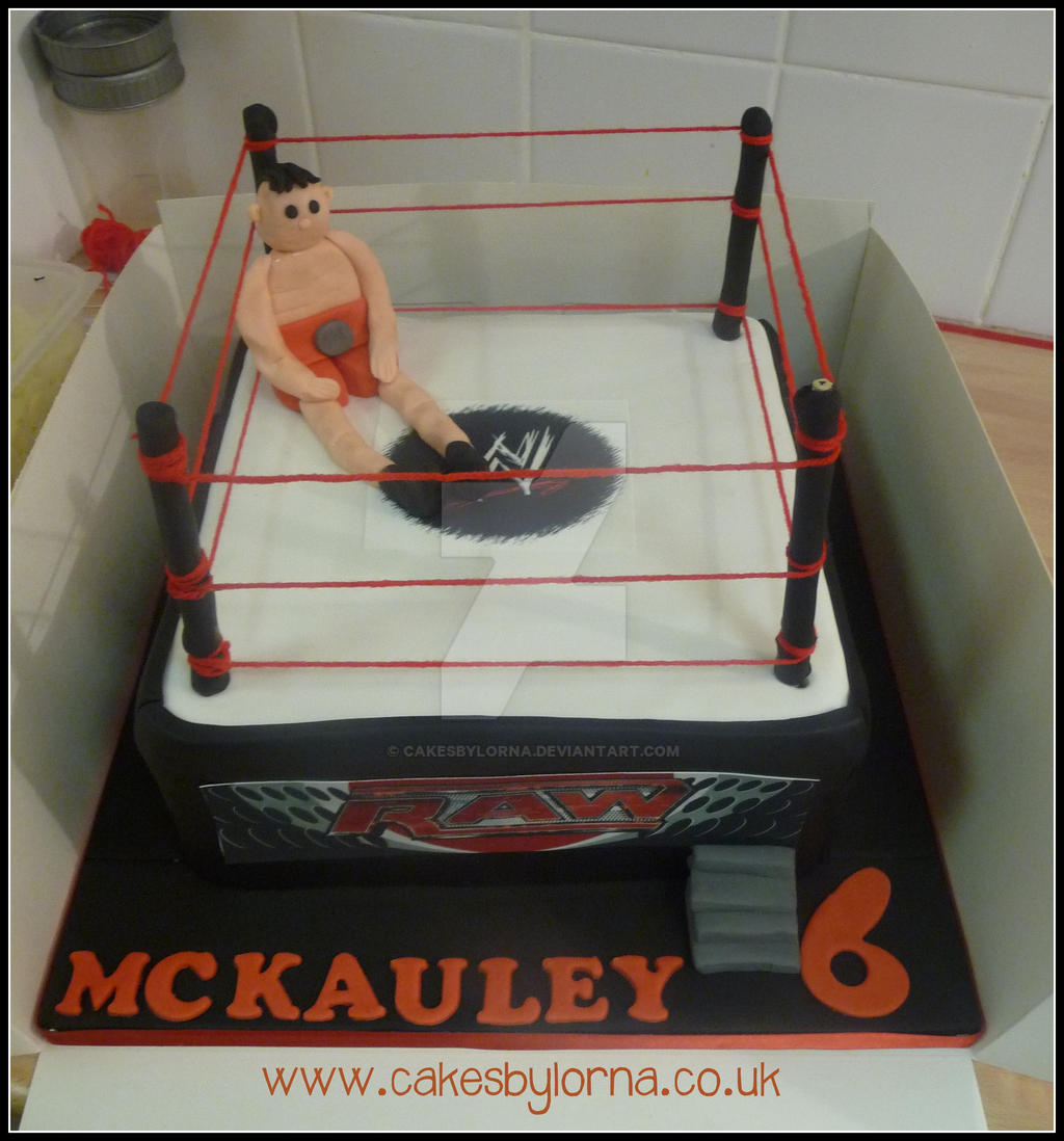 How To Make A Wrestling Ring For A Cake