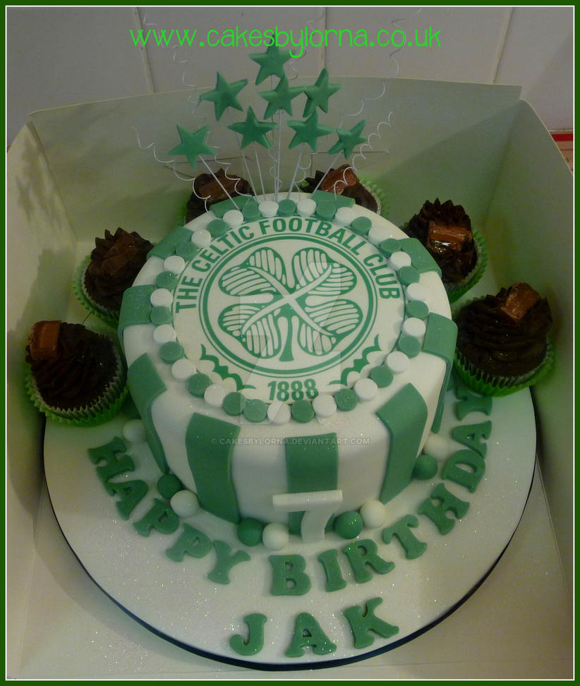 Celtic Fc Wedding Cakes