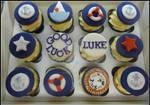 Navy Theme Cupcakes