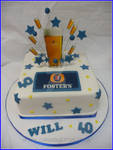 Fosters Lager Cake