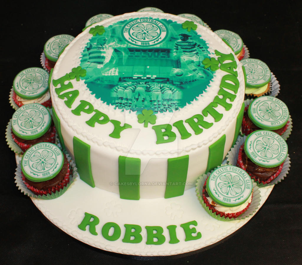 Celtic Football Club Birthday Cakes