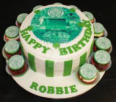 Celtic Football Club Birthday Cake