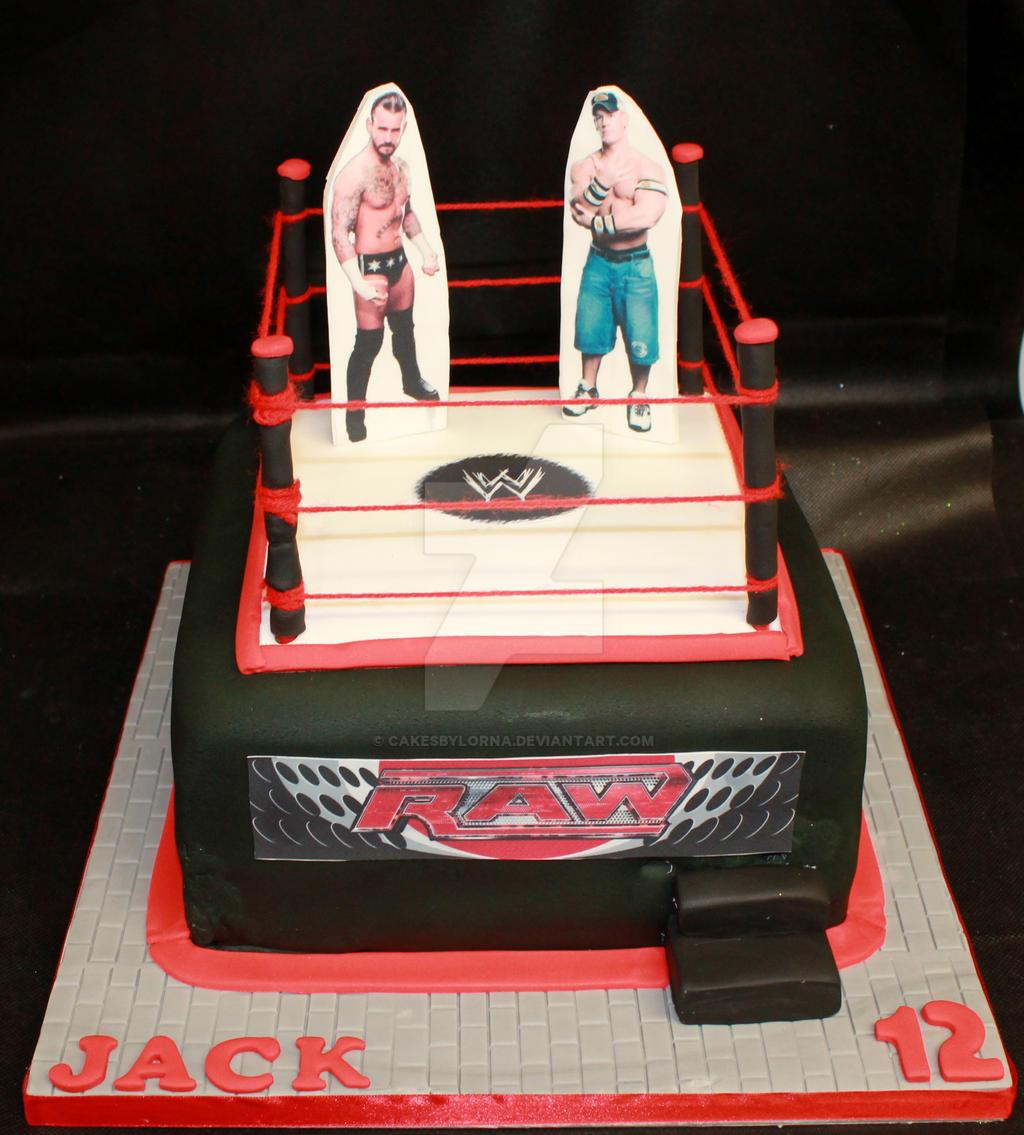 Wresting Ring Cake