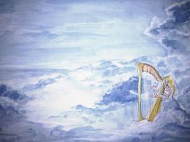 Heavenly harp by sofiko-chan