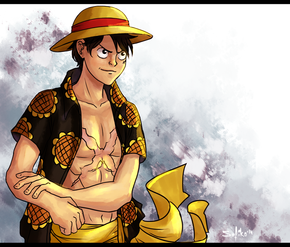 Luffy by sofiko-chan