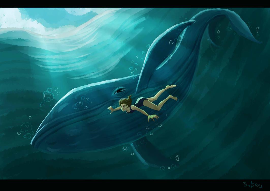 Whale by sofiko-chan
