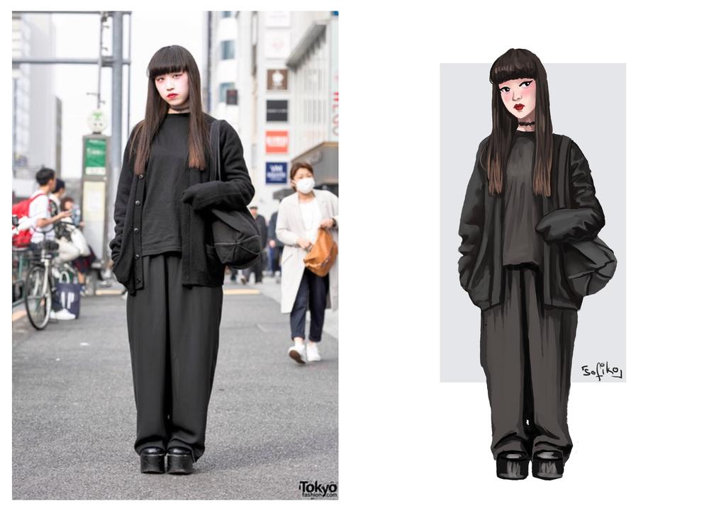Japanese Street Fashion 1 by sofiko-chan
