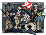 Ghostbusters Print (colored)