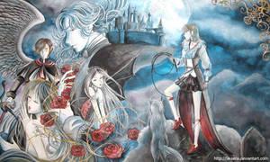 Vampire Hunter by la-sera