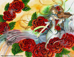 Roshea-Mother of Roses by la-sera