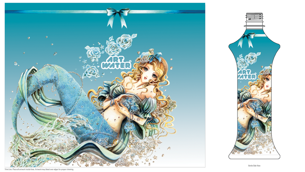 Art Water Blue by la-sera