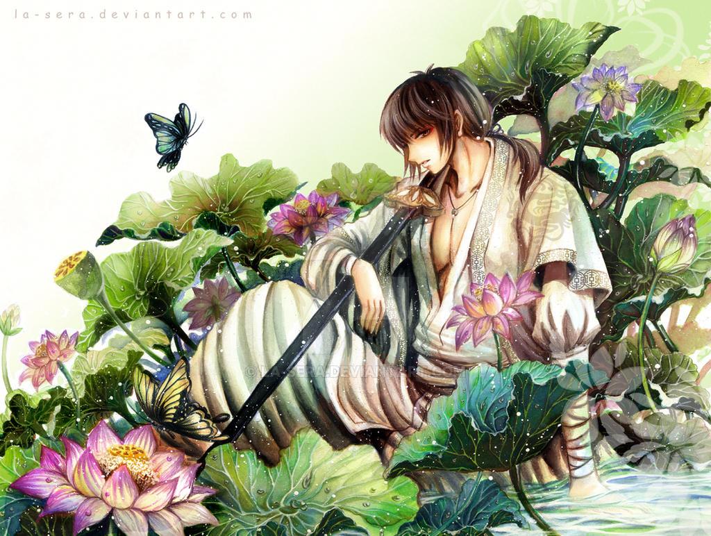 Lotus by la-sera