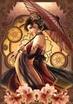 Lady Sakura by la-sera