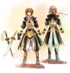 Lazlo - Queen Knight design