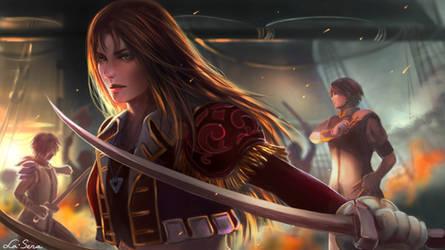 Suikoden IV: Lady Kika