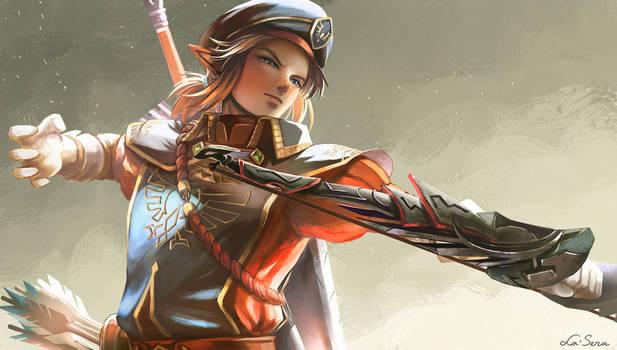 Zelda BOTW: Link - Royal Guard