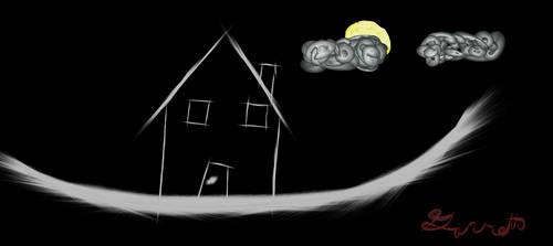 haunted house by gavistan