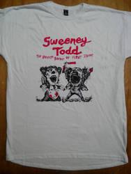 Sweeney Todd T-Shirt by Zortegus