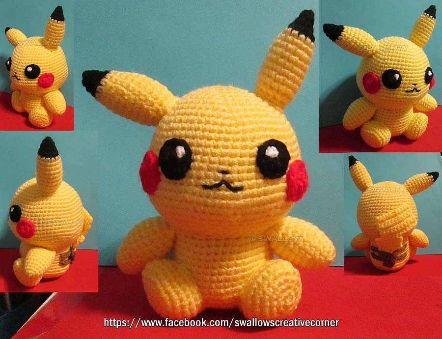 Pikachu by swallowtt