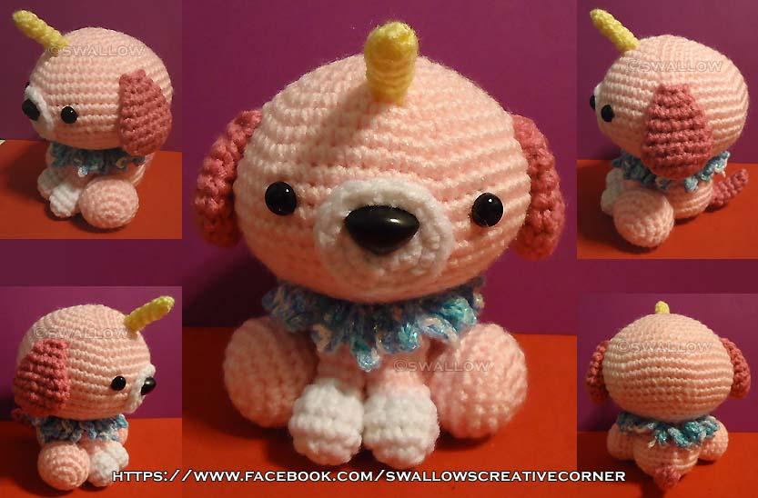 Unicorn Puppy by swallowtt