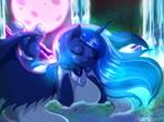 Luminescent Luna