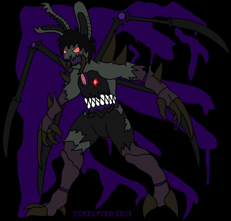 Boss Character #3: Corrupted Zeus by TheSpiderManager