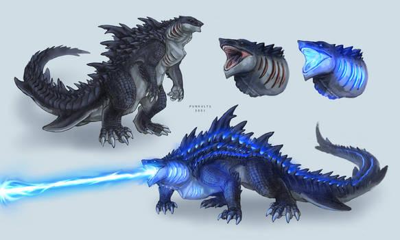 Godzilla design