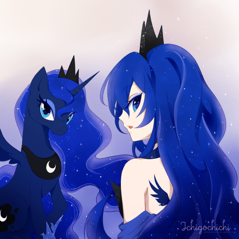 mlp princess luna by ichigochichi on deviantart