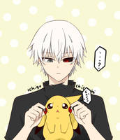 Pikachu Ghoul by Ichigochichi