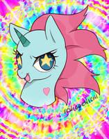 Pony Head MLP style by Ichigochichi