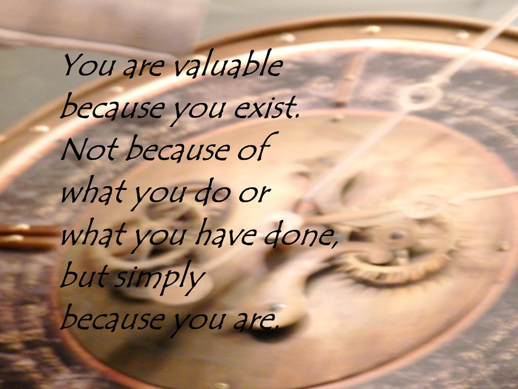 You Are Valuable by Keziamara