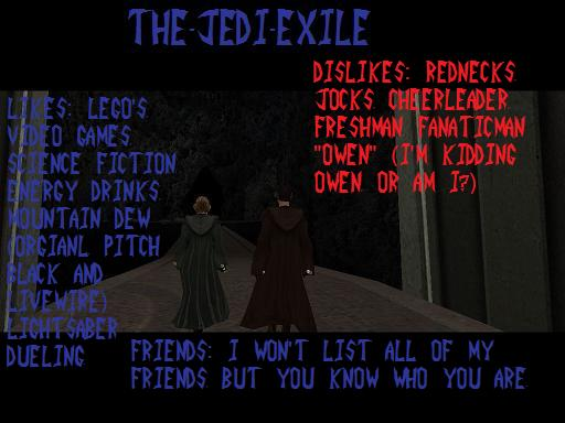 The-Jedi-Exile's Profile Picture