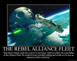 Rebel Alliance Fleet Poster by The-Jedi-Exile