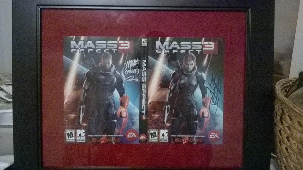 The crown jewel in my Mass Effect collection by The-Jedi-Exile