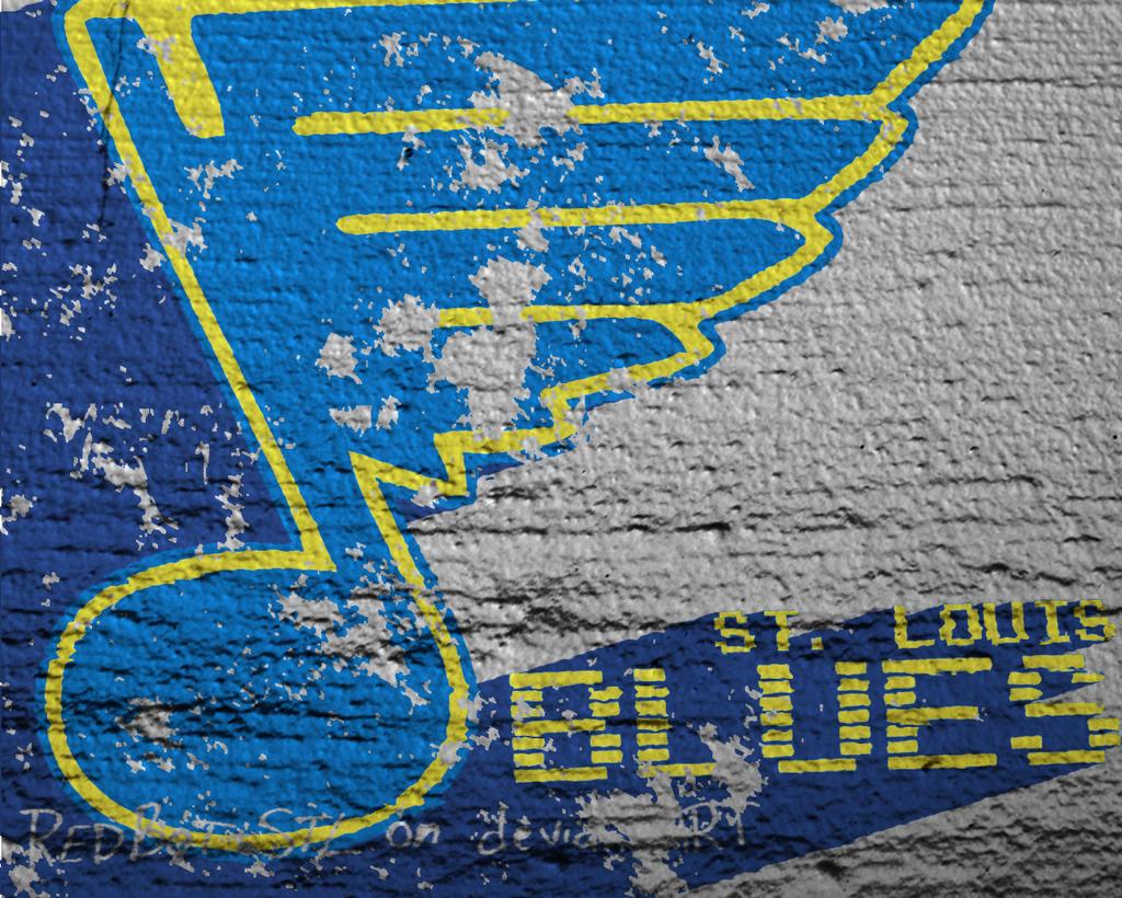 St Louis Blues Wallpaper By Redbot Stl On Deviantart