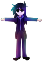 T pose-collab by Bisguit89