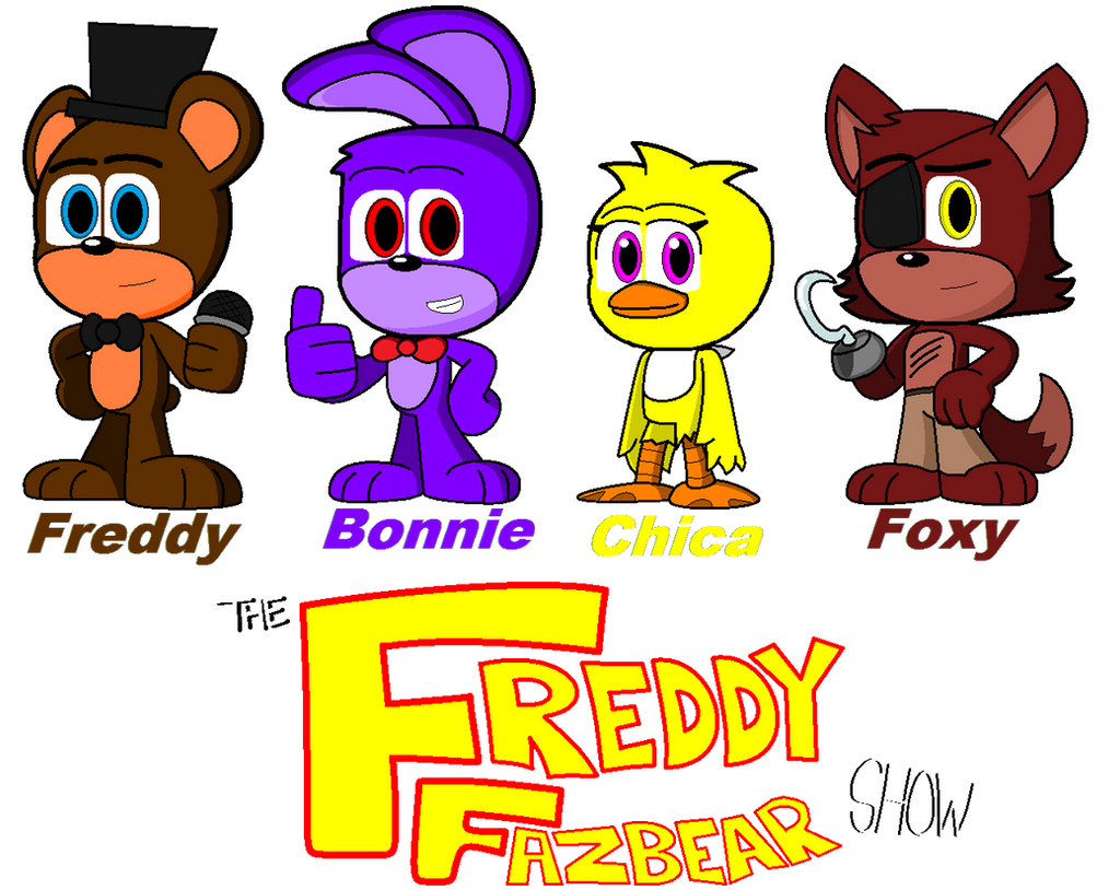 The freddy fazbear show character design by jamaratyneklenard on