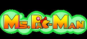 Modern Ms.Pac-Man Logo