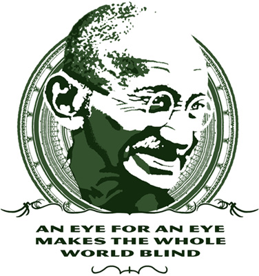 Gandhi quote by SpaceHaze