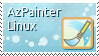 AzPainter Linux Stamp by 0xconfig