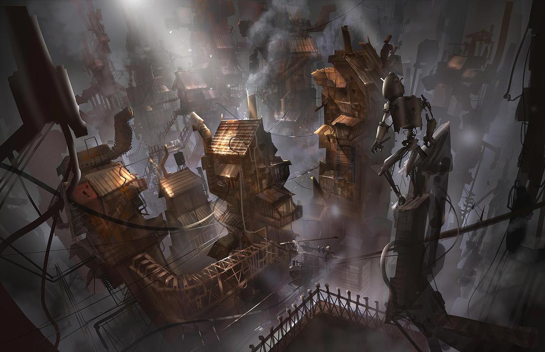 old city N.7 by O-FON