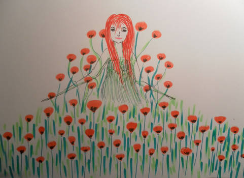 the goddess of poppies