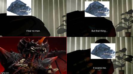 Godzilla's only fear