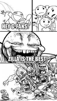 G-fans vs. Z-fans in a nutshell