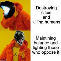 Monsterverse Godzilla in a nutshell
