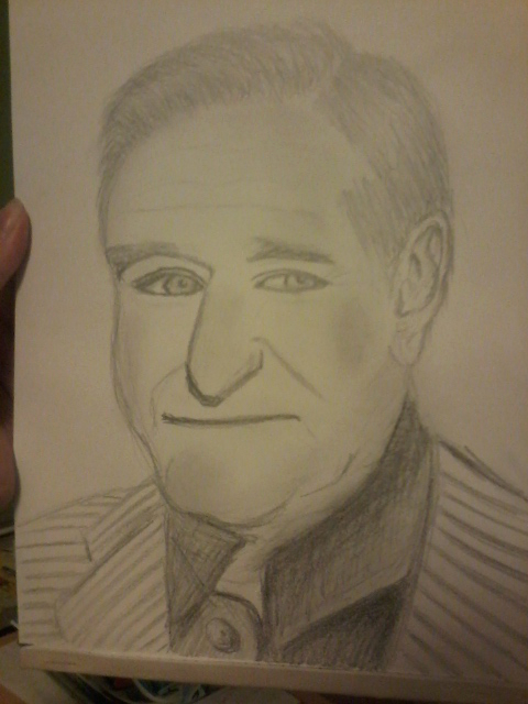 Robin Williams by 999SunnyCat999