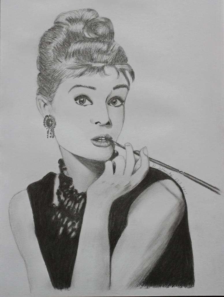 Audrey Hepburn by 999SunnyCat999