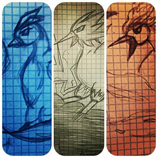 Legendary Bird - Pokmon by MyWorld35