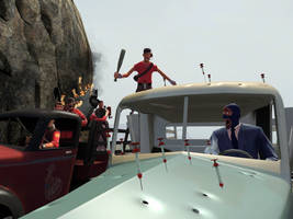 Highway Chase by DevilTraitor